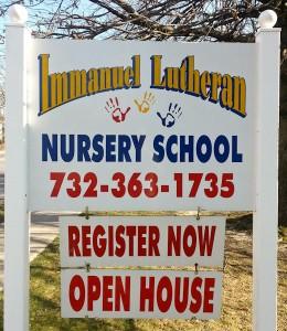 Immanuel Lutheran Nursery School, Lakewood NJ